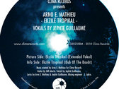 "Clima Records Presents: Ekzile Tropikal - Arno E. Mathieu feat. Vokals by Jephte Guillaume - 12"" Vinyl Release + Circumstances of Chaos CD! photo"