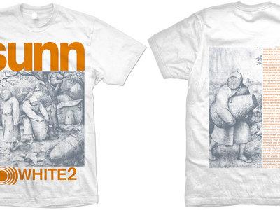SUNN WHITE 2 t-shirt (VINTAGE STYLE SHIRT) main photo