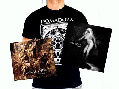 PACK DOMADORA ## 2 ALBUMS (CD) + T-shirt ## V3 main photo