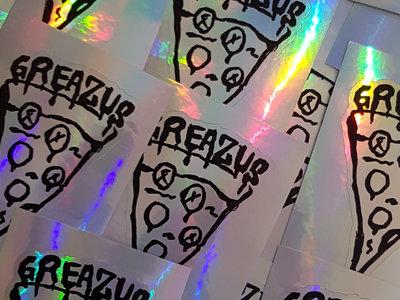 """GREAZUS """"Prismatic Slice"""" Sticker main photo"""