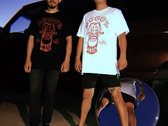 White/Red Fu Dog T-Shirt (Nontoxic Process Edition) photo