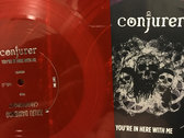 "Conjurer / Kaiju Daisenso Split 7"" Flexi (Small Hand Factory) photo"