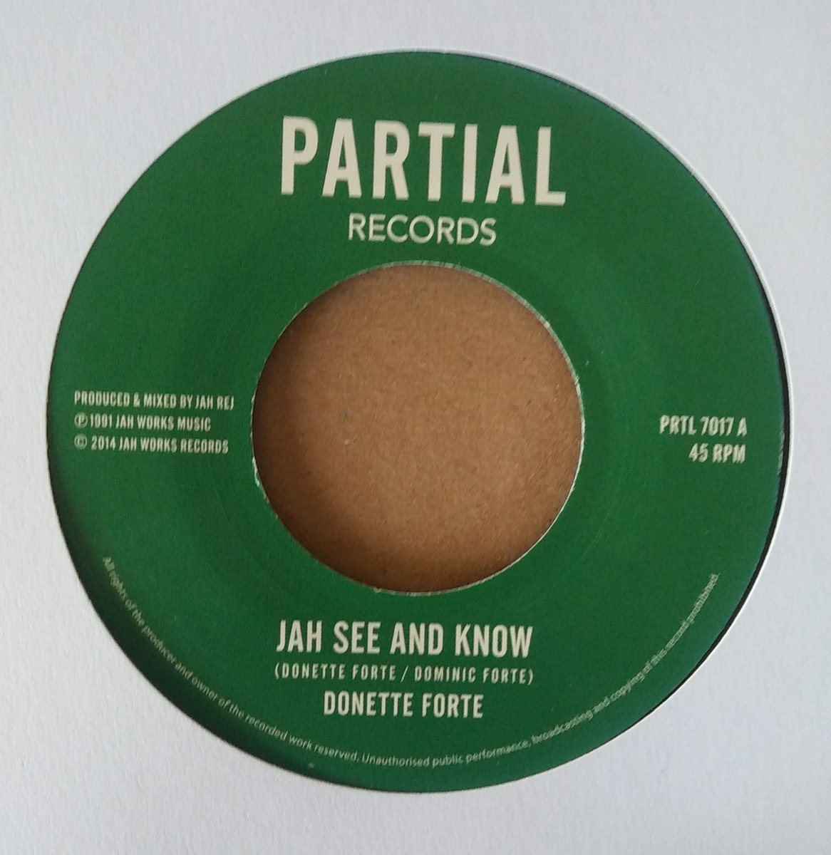 Donette Forte - Jah See and Know | I-Roots Records