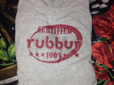 Certified rubbur 100% T-Shirt main photo