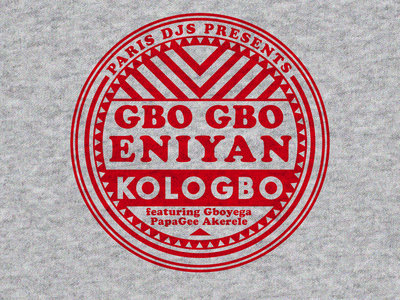 Wearplay EP#30 - Kologbo feat. Papagee - Gbo Gbo Eniyan - T-shirt Made In France main photo