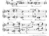 Simon Vincent La Mia Coppa Trabocca for Solo Piano (2016). Sheet Music PDF photo