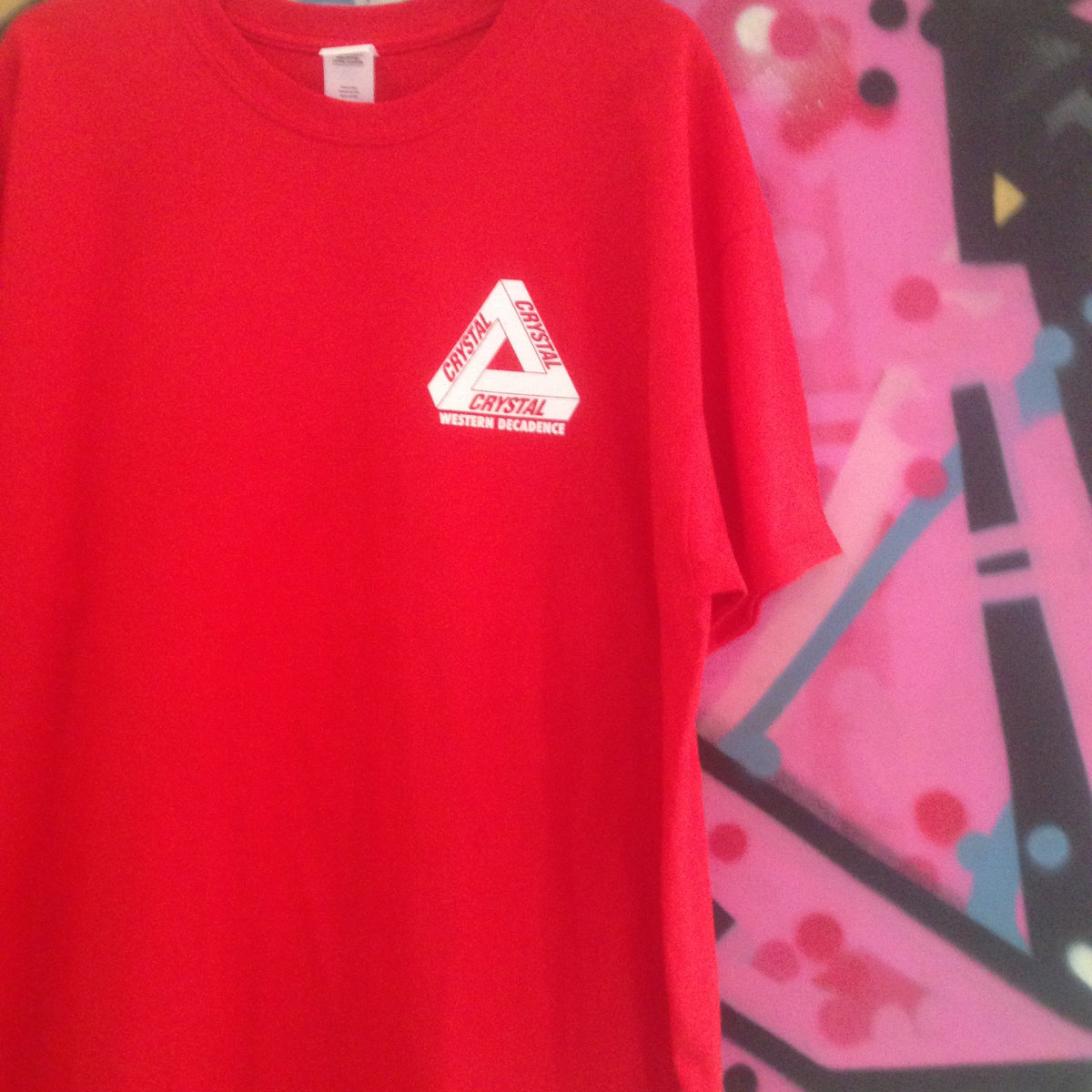 f1adc17c Crystal Palace Triangle T-Shirt (Norwood Red) | Western Decadence