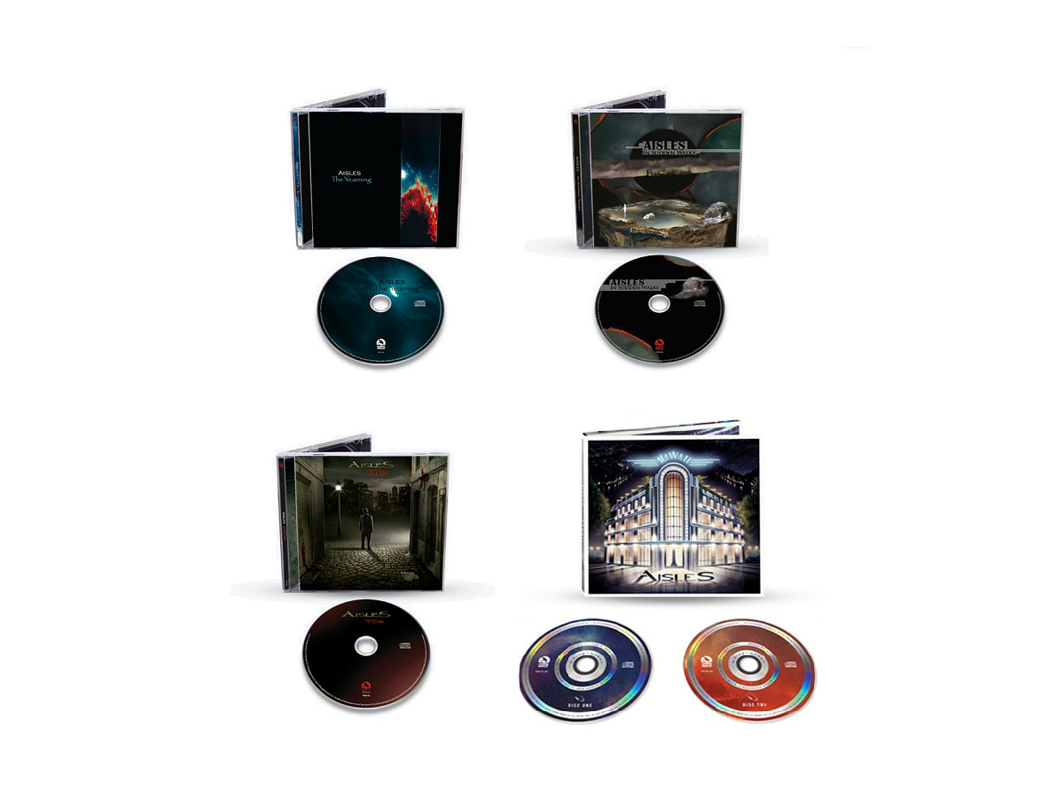 Studio discography digital bundle   aisles.