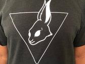 Blac Rabbit Logo T-Shirt (Black) photo