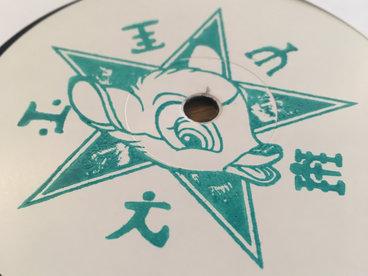 """Hand stamped 12"""" vinyl main photo"""