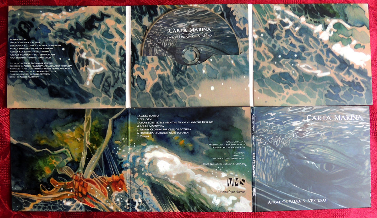 Carta Marina / official CD digifile | octoberXart records