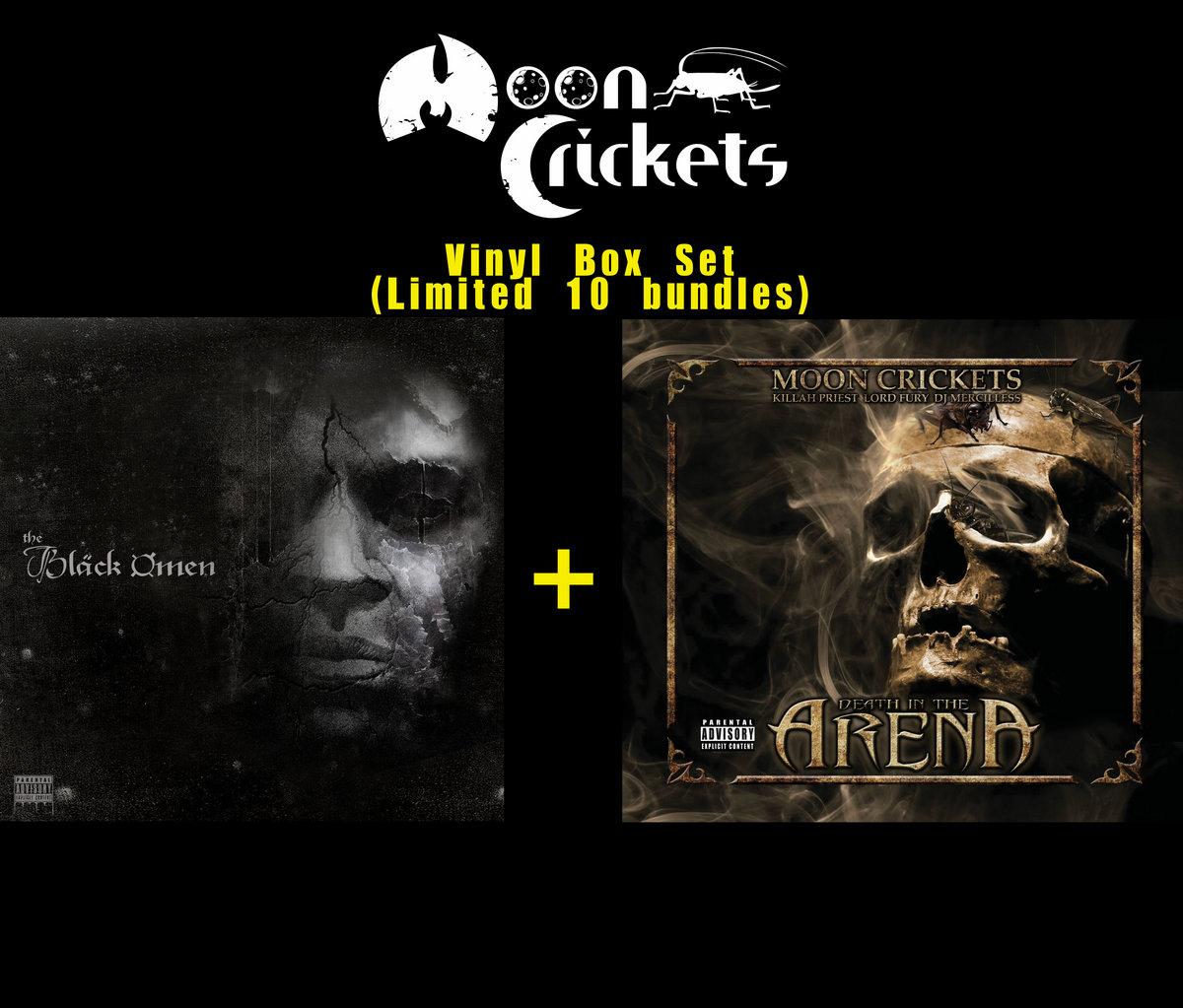 THE BLACK OMEN (ft  Lord Fury, G Knight, Rock 13) | Moon Crickets