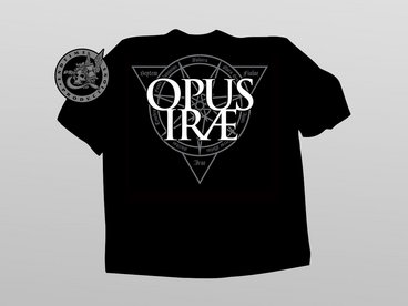 OPUS IRAE: Dark Silver Logo T-shirt main photo