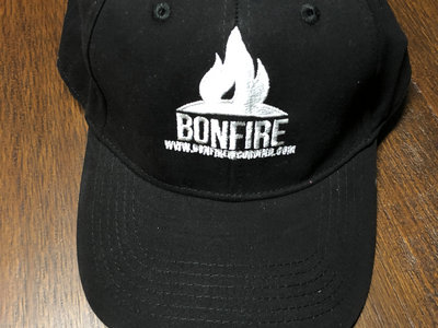 Bonfire Recording Co. embroidered Hat - Black main photo