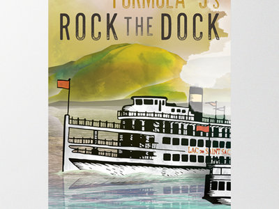 Rock the Dock screenprints by Flavortown Promotions main photo