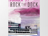 Rock the Dock screenprints by Flavortown Promotions photo
