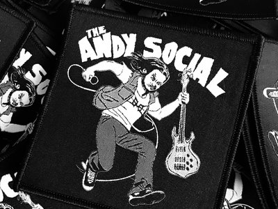 Andy Social Woven Patch main photo