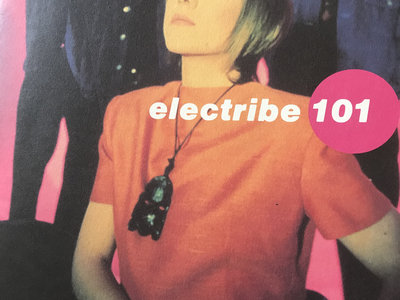 8 page colour booklet from Electribe 101 Japanese tour ... (1991?) main photo