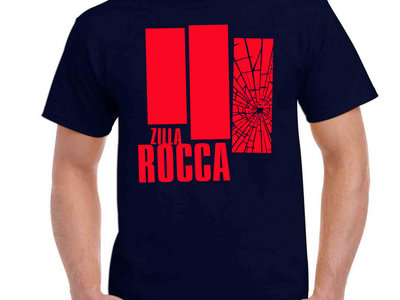 Zilla Rocca Shatter T-Shirt NAVY & RED main photo