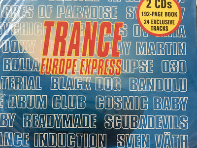 Trance Europe Express Double CD ALbum incl. BRM and Spooky: Persuasion main photo