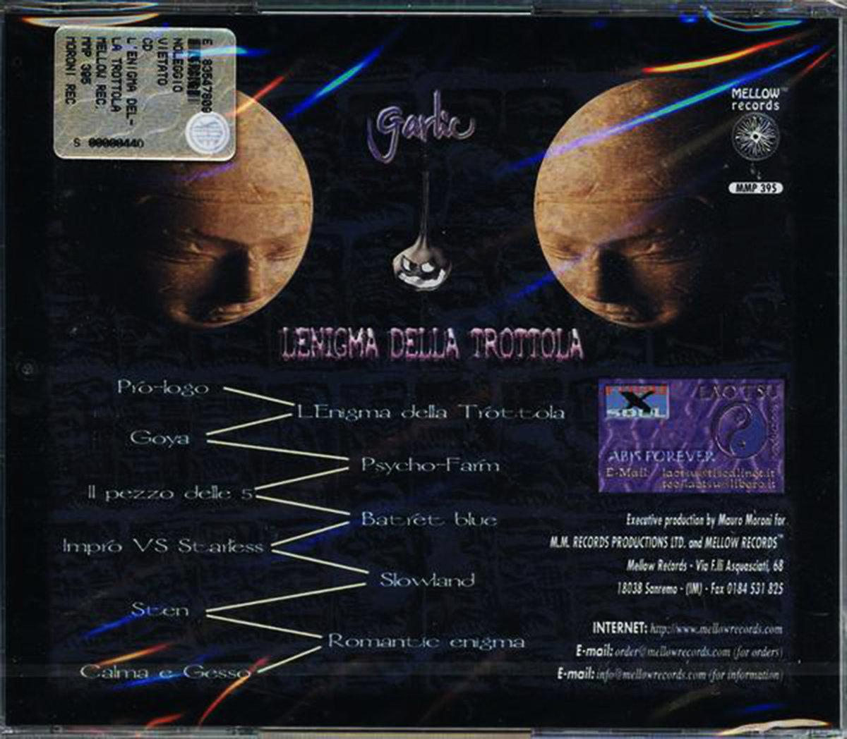 L'Enigma della Trottola | Mellow label productions