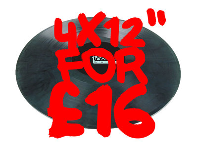 "4 x 12"" For £16 main photo"