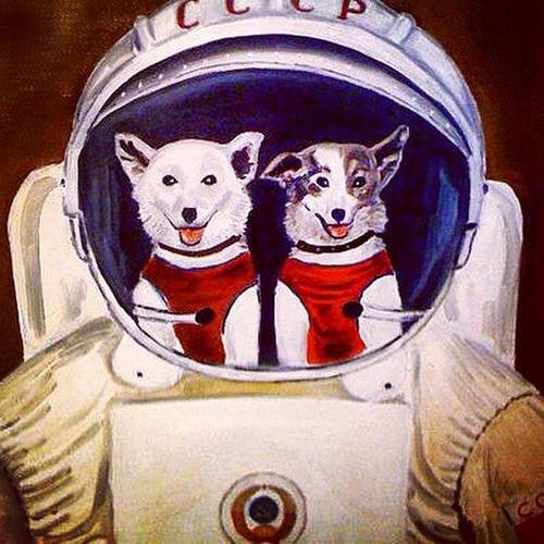 A Bunch Of Cosmic Parsnips The Soviet Space Dog Project