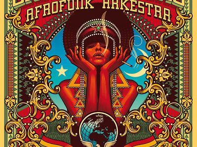 """Grant Phabao Afrofunk Arkestra"" poster + digital download main photo"