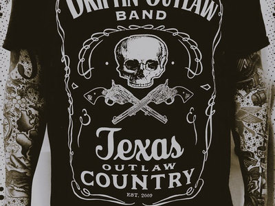 Texas Outlaw Country T-Shirt main photo