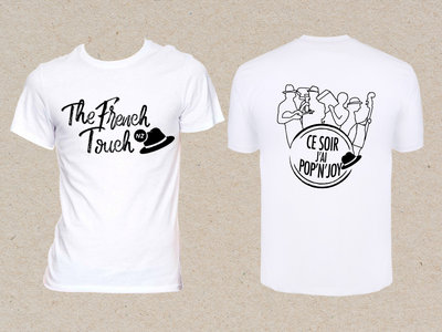 "Tee-shirt Homme ""French Touch - NZ / Pop'N'Joy"" main photo"
