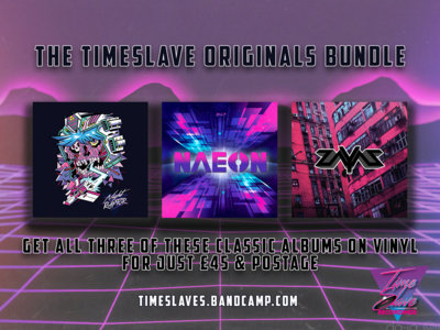 TimeSlave Originals Vinyl Bundle (Limited Edition - 15 available) main photo
