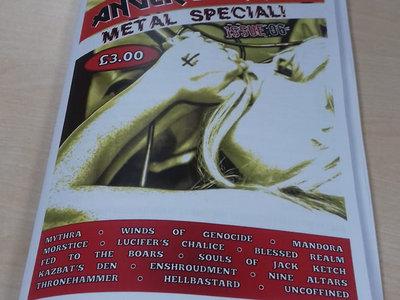 Anger Burning Fanzine - Issue 6 main photo