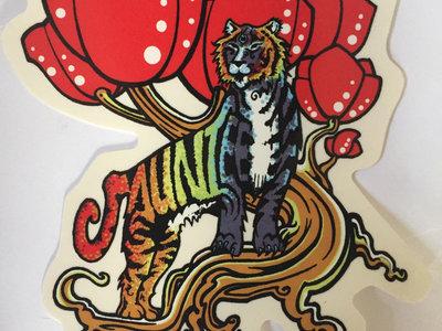 Rainbow Tiger Sticker main photo