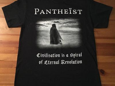 Civilization is a Spiral of Eternal Revolution shirt main photo