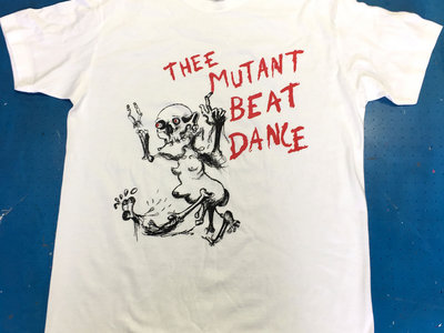 Mutant Beat Dance 'Written In Blood' 180gr. Fair Cotton Tee main photo