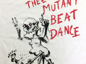Mutant Beat Dance 'Written In Blood' 180gr. Fair Cotton Tee photo