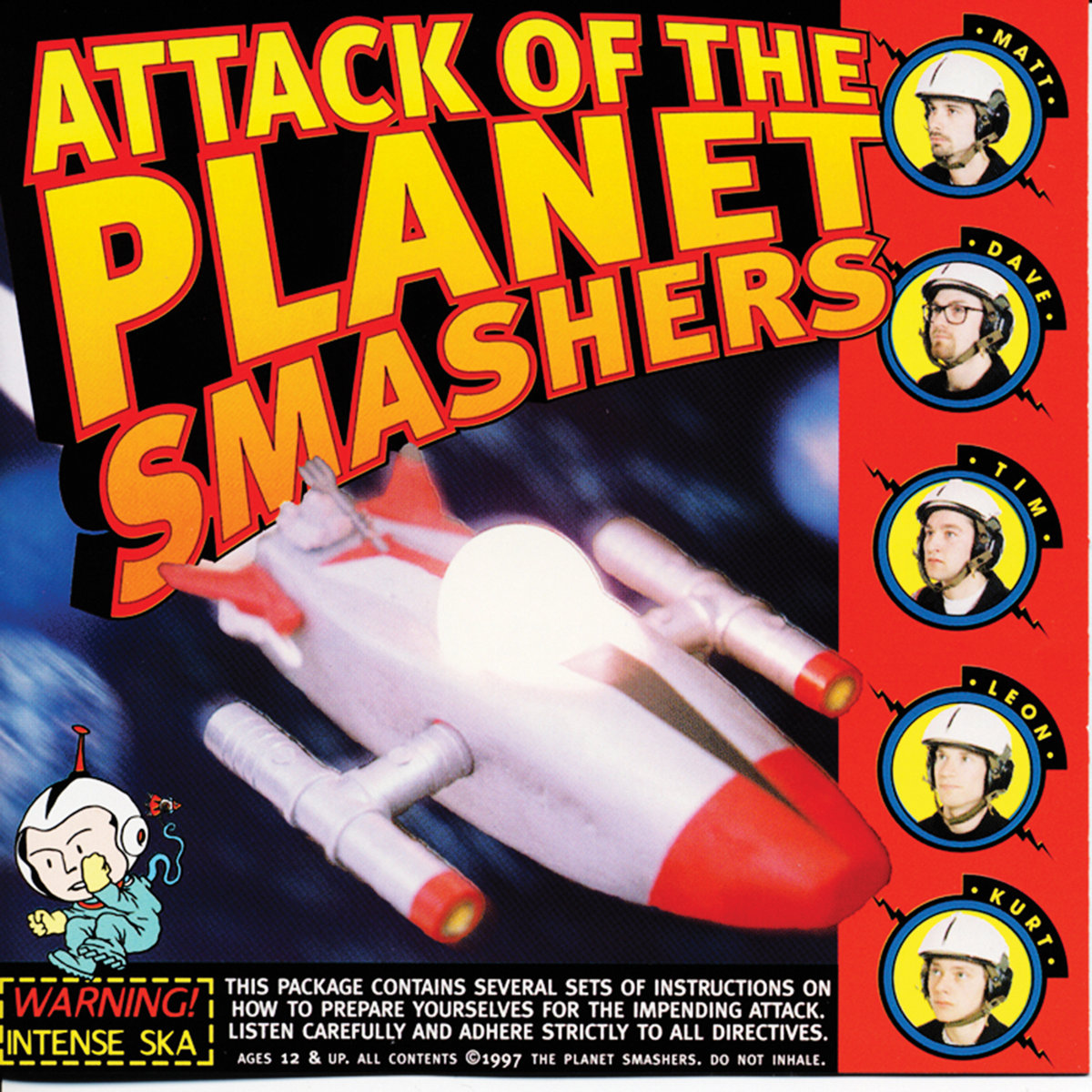 Attack Of The    | The Planet Smashers