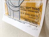 Jim Madison × Foxhole, Silk-screened Poster photo