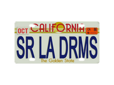 Metal License Plate main photo