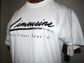Limousine West Coast Tour 2018 'Eyeliner & Limousine' Tour Tee photo