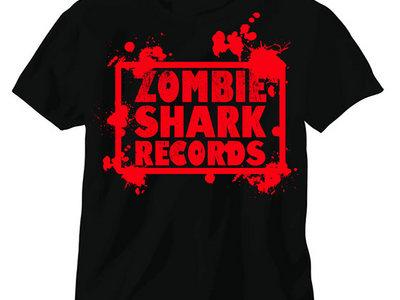 Zombie Shark Records Shirt Grab Bag w/ Free CD, Magazines, Stickers main photo