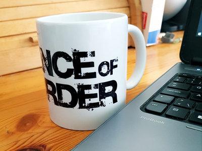 """Coffee mug """"science of disorder"""" main photo"""