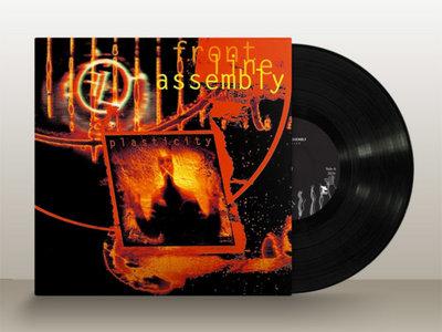 "FRONT LINE ASSEMBLY: Plasticity 10"" vinyl main photo"