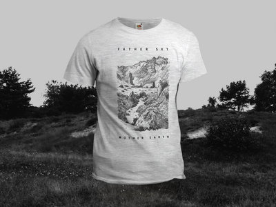 SALE! Father Sky Mother Earth – Mountain T-Shirt (Grey) main photo