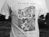 SALE! Father Sky Mother Earth – Mountain T-Shirt (Grey) photo