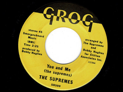 YOU & ME - THE SUPREMES - VG+ main photo