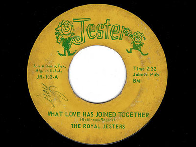 WHAT LOVE HAS JOINED TOGETHER - ROYAL JESTERS main photo