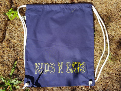 Gym Bag with Yellow KIDS N CATS Logo main photo