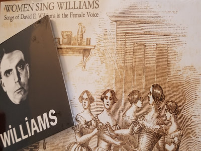 """""""PEOPLE sing Williams""""-- WOMEN SING WILLIAMS vinyl combined with APPEAL OF DISCARDED ORTHODOXY tribute double CD main photo"""