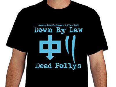 T-shirt Dead Pollys + Down By Law main photo